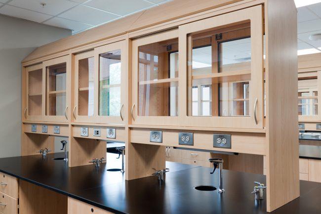 Laboratory featuring Hamilton Sorter Casegoods