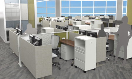 KI Custom Tailored Solutions Creates Special Workstations