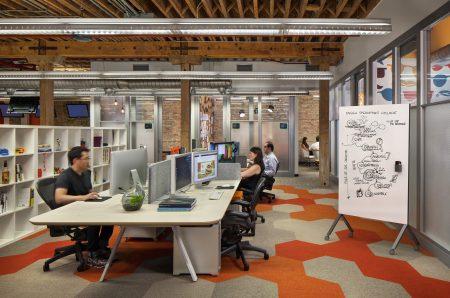 Watson Benching Furniture, Tonic for Open Office Environments