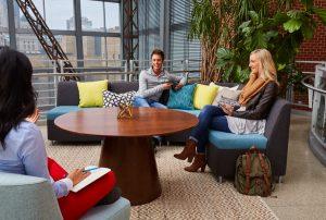 JSI Moto Collaboration Lounge Space