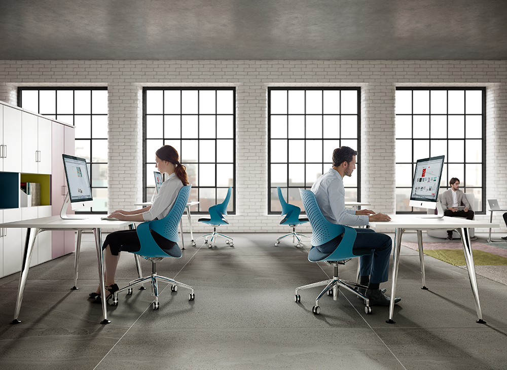 Boss Design Coza Task Chair, Open Office Environment