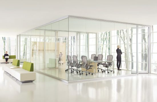 Teknion Optos Low Profile Demountable Wall System