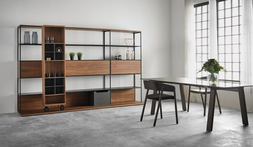 Teknion Punt Literatura Open Storage Shelf System