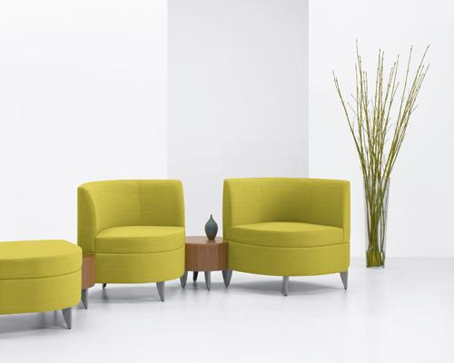 Arcadia Leaf Leaflette modular Lounge Lobby Seating Guest
