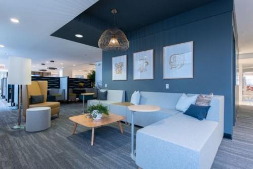 KI, neocon, myplace lounge seating, collaborate, lobby