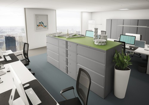 Bisley essentials storage, office, corporate, huddle, collaborate, open office