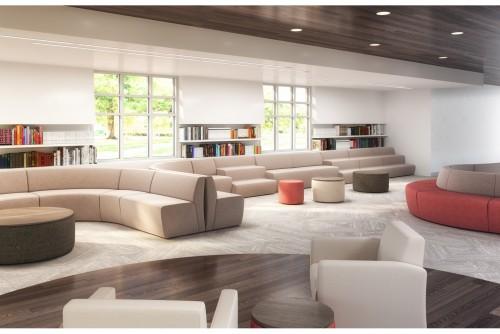 ERG International Corporate Brighton, lounge seating, upholstered, casual meeting