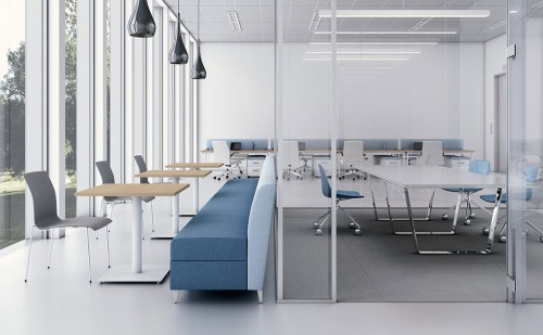 Nevins Koen Table, Seating, Tables, Conference Room, Open Office