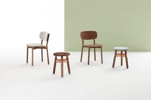 Darran Roki side chair, stool, guest chair, corporate