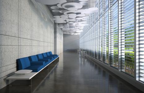 Davis Blok Bench, lounge seating, lobby, multiple, upholstered