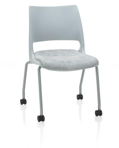 Doni Ganging KI Seating Chair Side Guest 4 leg casters