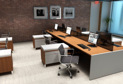 Gavco Benching, open office, desking, corporate