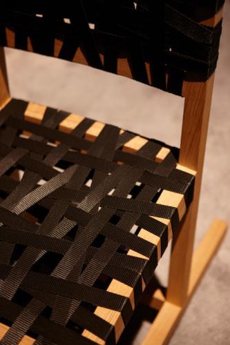 KI Berlage Side Guest Designer Wood Seating Chair