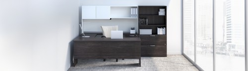 Group Lacasse Concept 300, private office, corporate, desking
