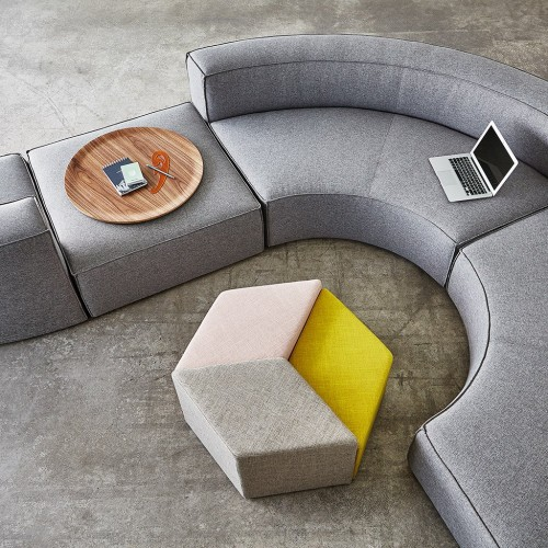 Gus Modern Mix Modular seating, upholstered, collaborate, huddle, sofa