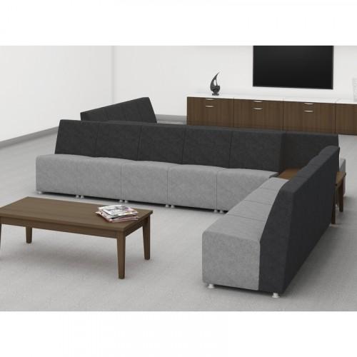 HBC Fuse Modular Series, lounge seating, reception, lobby,