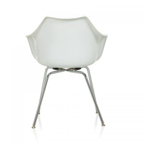 KI Jubi Molded Poly Chair Seating Designer Conference Meeting Dining Break Room Private Office Side Guest Lounge Reception Waiting