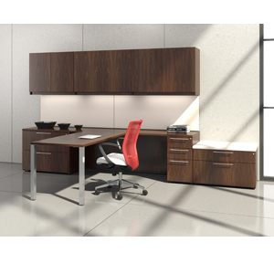 Krug Artemis casegoods, corporate, office, desk, storage, business