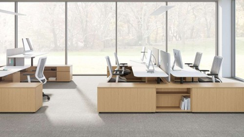 OFS Aptos Benching, desking, open office, corporate