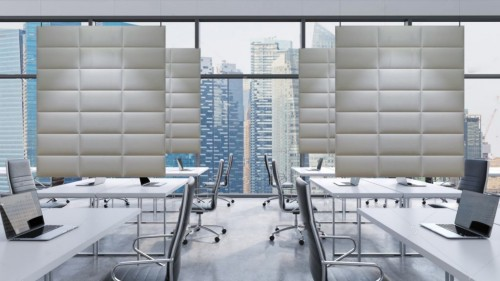 Peter Pepper Ecodesk panels, acoustical, corporate, open office, partition
