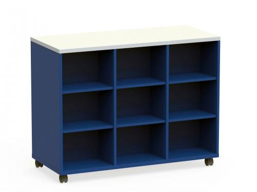 KI Ruckus Higher Education K12 Classroom Storage Worktable locker Cubby