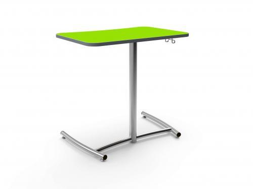 KI Ruckus Higher Education K12 Classroom Worktable Table Pull Up Side