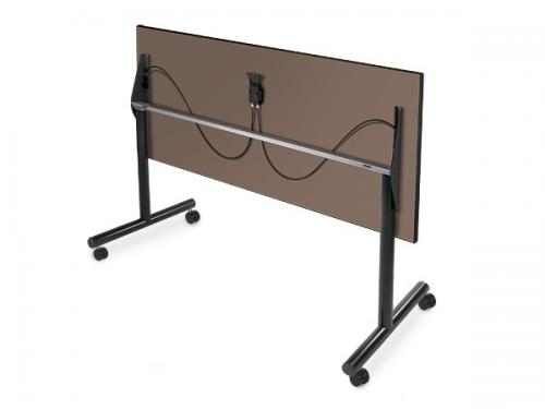 KI Nesting Trapezoid Table Flip-top folding mobile