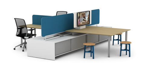 Watson iBahn Table Office Conference Business Meeting Collaboration Furniture