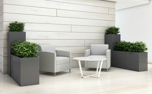 Nevins Koen Table, Occasional Table, Planters, Plants, Pots,