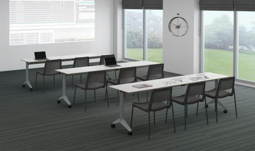 Watson Miro Flip Table Nesting Office Conference Business Meeting Collaboration Furniture Classroom Higher Ed Higher-Education Education