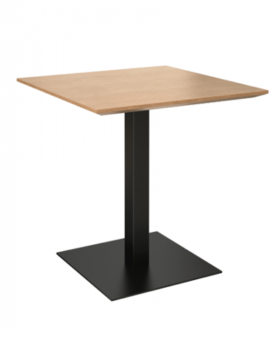 Grand Rapids brady pedestal table, wood, restaurant, corporate, business,