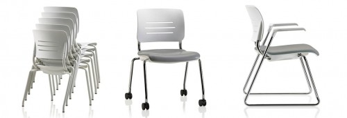 KI grazie stack chair, stacking, seating