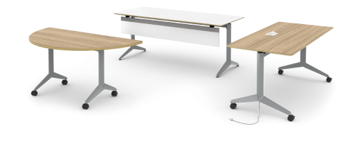 Watson Miro Table Office Conference Business Meeting Collaboration Furniture Nesting Flip Higher Ed Higher Education
