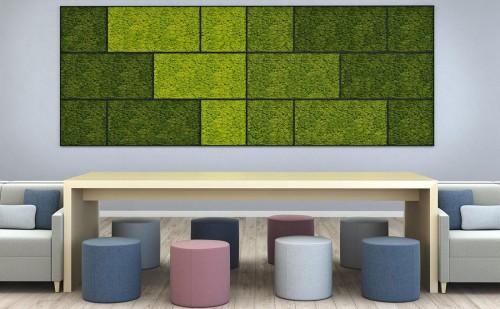 Nevins bio canvas wall, living, eco, plant, accessory