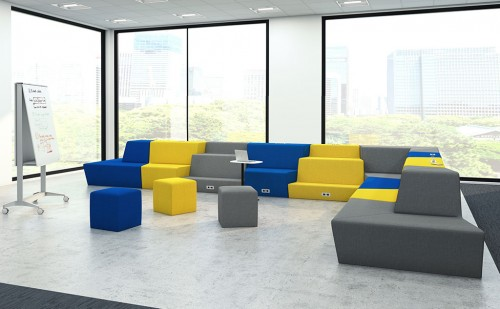 nevins climb collaborate lounge seating, meeting, huddle