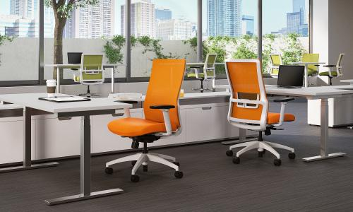 Sit On It Task Chair Seating Conference Mesh Back Office Novo
