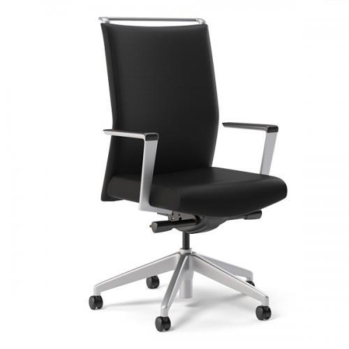 Sit On It Task Chair Seating Conference Mesh Back Office Sona Leather Back