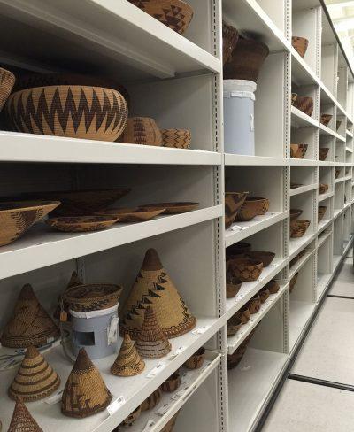 Art museum shelves by Montel with SmartShelf