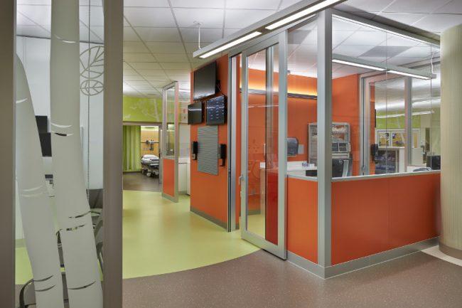 Seattle Children's Hospital Genius Wall Nurses Station