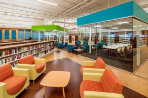 KI Library Featuring TeaCup Lounge, Sela, Strive Nesting and Barron Tables
