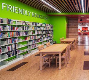 KI Library Furniture features crossroads