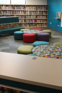 Palmer Hamilton Library Furniture Featuring Daisy Product