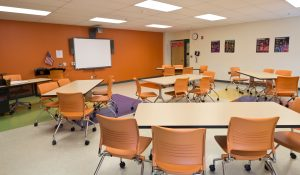 KI Strive Nesting and Trek Tables in Classroom