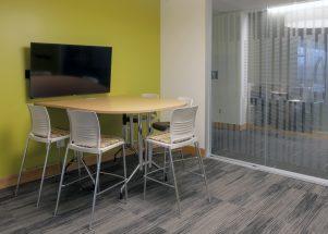 KI Conference Room Featuring KI Strive and Trek Table