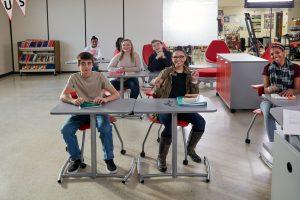 KI features Ruckus desks, chairs, storage in classroom environment