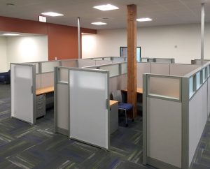 Office Environment featuring KI Unite Panel System