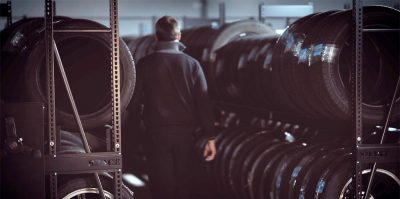 Montel tire storage for Acura