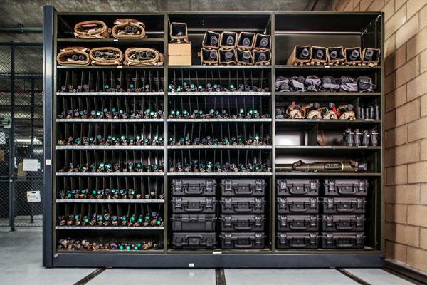 Montel military weapons storage