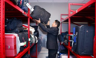 Montel Luggage Storage at Hyatt Regency Bag Storage Valet