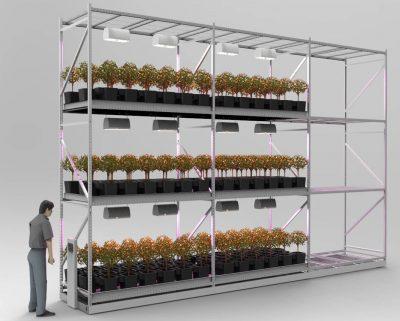 Montel GreenRak for plant storage